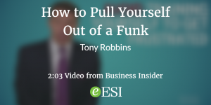 Aug10-Robbins on Getting Out of Funk Image