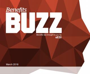 Employee Benefits Update from eESI Benefits Buzz