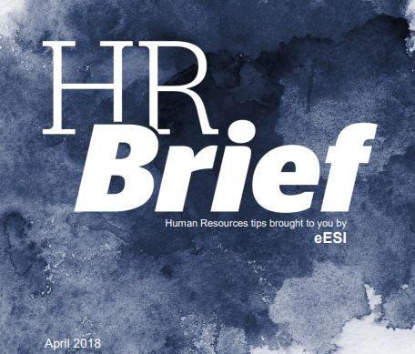 April HR Brief from eESI- phishing scams and compensation tables